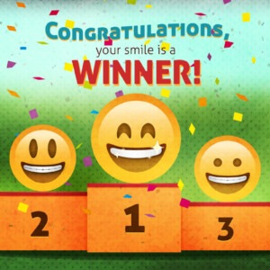 Dental SEO - Congratulation, your smile is a winner