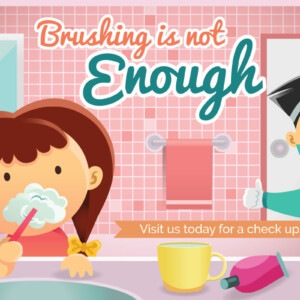 Online Marketing Company Edmonton - Brushing is not enough, visit us today for a check-up