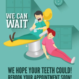 Dentist Marketing - We Hope Your Teeth Could Rebook Your Appointment Soon