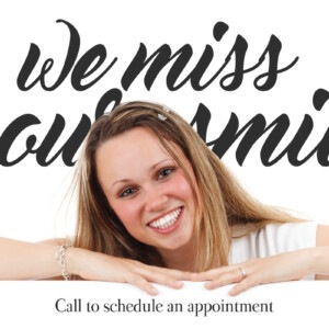 Marketing Firms In Calgary - We miss your smile, Call to schedule an appointment